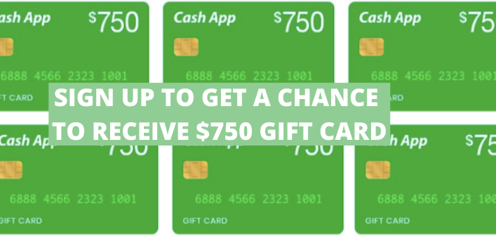 Cash App Sign Up: Get A Chance To Grab $750