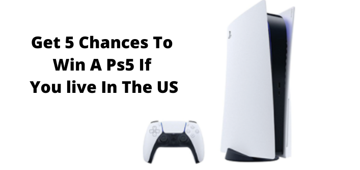 Get 5 Chances To Win A PS5 In The US